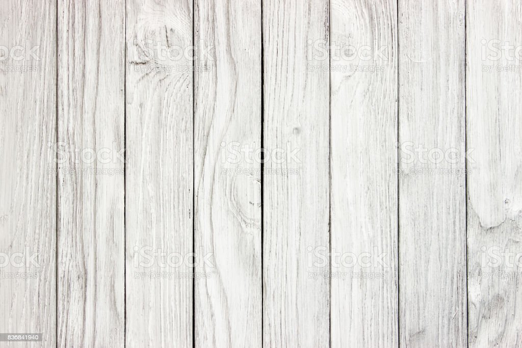 white wood panel background Ready for product display montage. stock photo