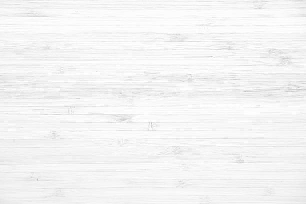 White wood panel texture background - foto stock