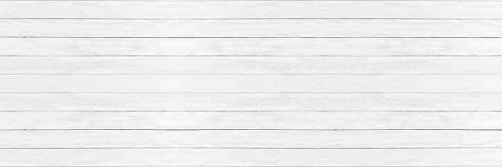 white wood pattern and texture for background. panorama picture