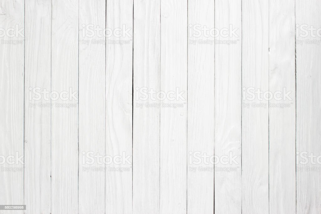 White wood plank as texture and background stock photo