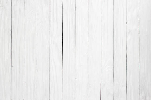 white wood plank as texture and background - whitewashed stock photos and pictures