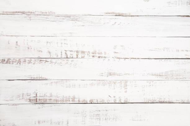 흰색 나무 판자 배경 - 나무 뉴스 사진 이미지