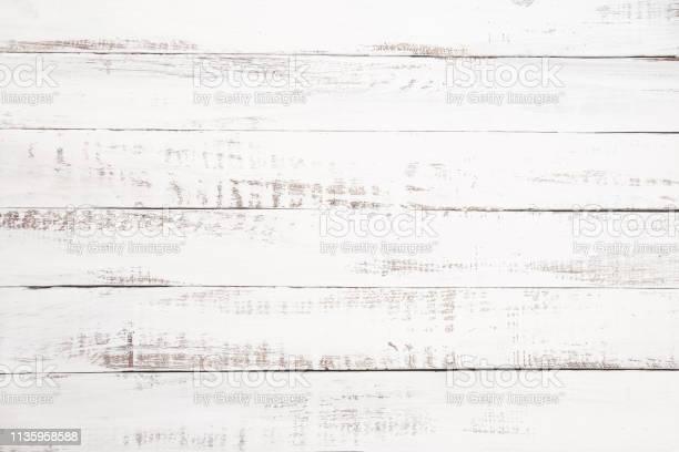 Witte Houten Plank Achtergrond Stockfoto en meer beelden van Abstract