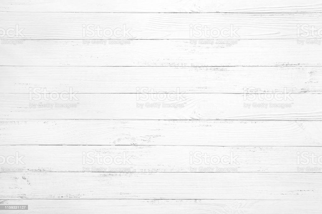 fond de planche de bois blanc - Photo de Abstrait libre de droits