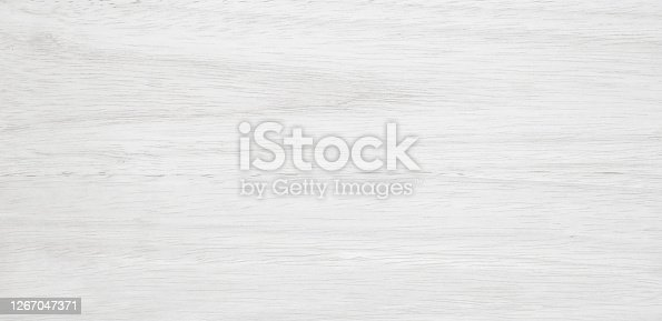 istock White wood surface natural texture background 1267047371