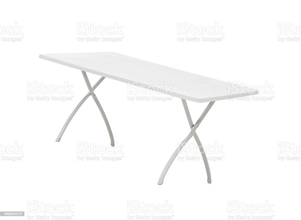 white wood table stock photo