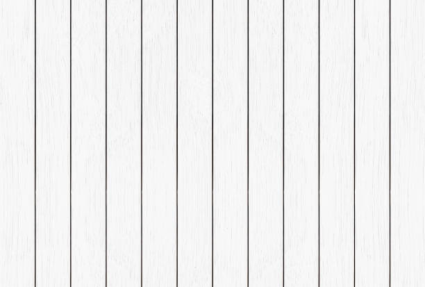 white wood texture background - palisade boundary stock photos and pictures