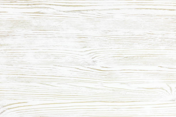 white wood texture background with natural pattern stock photo