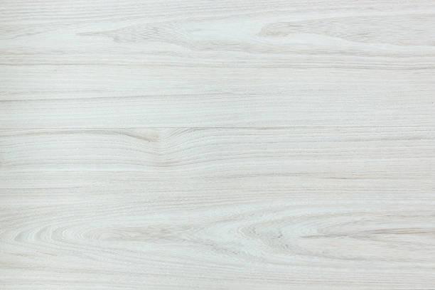 White Wood Texture Stock Photo