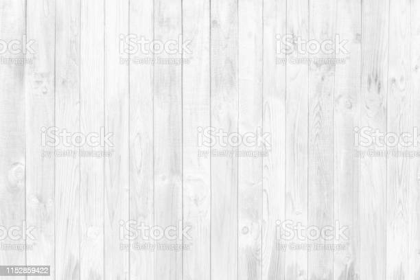 Photo of White Wood Wall Texture and Backgroud
