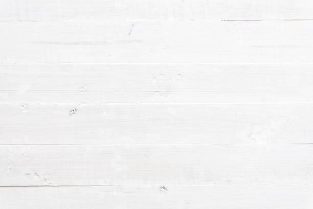 白の木製の背景 - 板 ストックフォトと画像