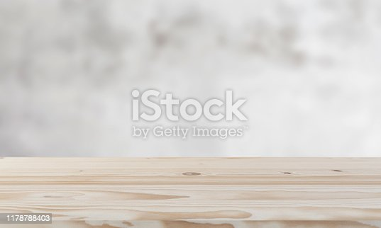 662984808 istock photo White wooden board background 1178788403