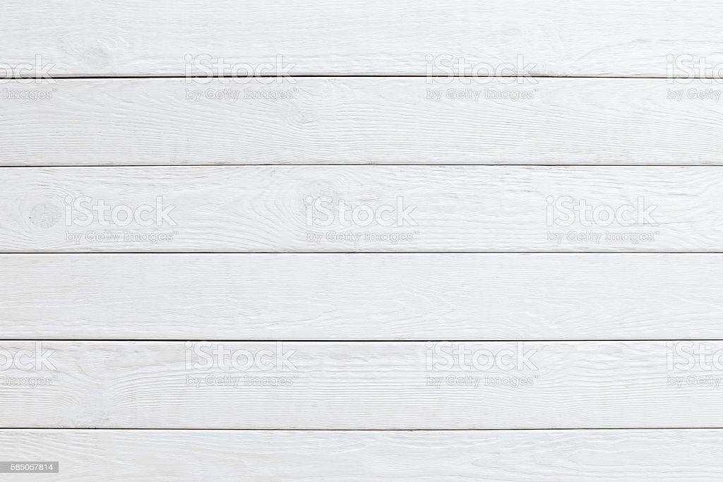 White wooden planks background. horizontal
