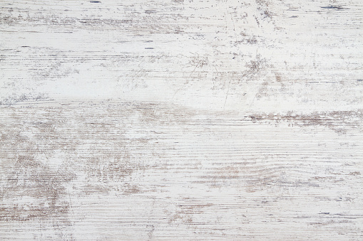High quality white wooden table background.