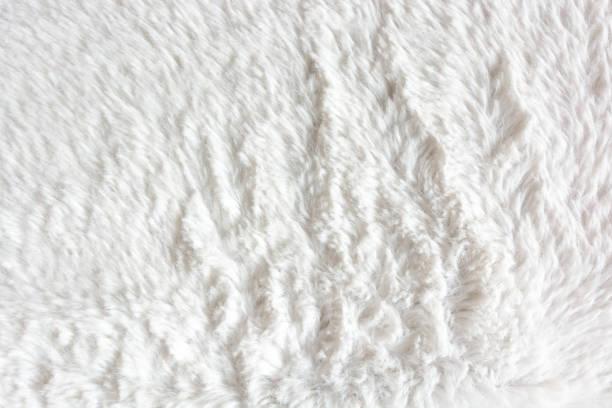 White wool blanket textured Fur, Fake Fur, Carpet - Decor, Cotton baby blanket stock pictures, royalty-free photos & images