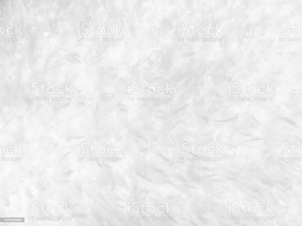 White wool blanket textured stock photo