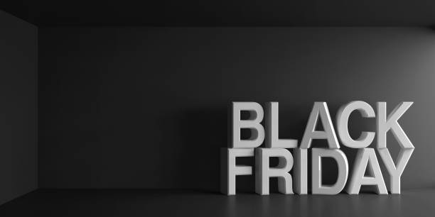 blanc noir les mots vendredi - black friday photos et images de collection