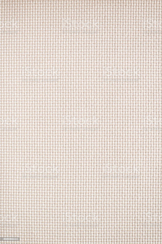 White Woven Textile Fabric Swatch stock photo