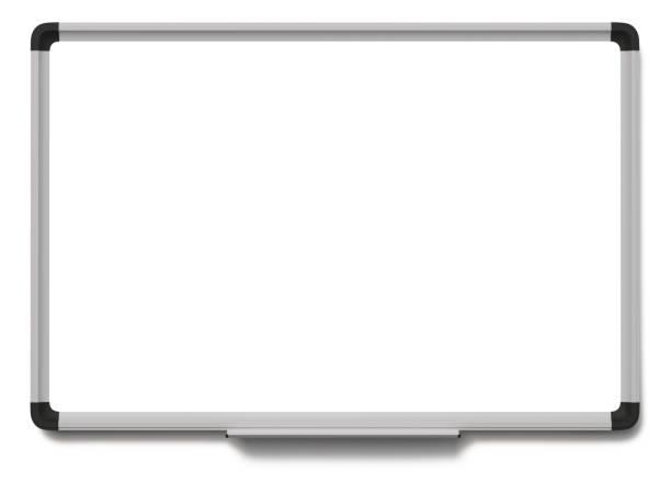 renderizado 3d de pizarra - pizarra blanca fotografías e imágenes de stock