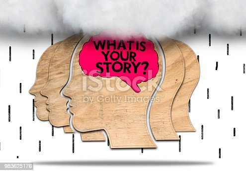 istock WHAT IS YOUR STORY? /  Whiteboard concept (Click for more) 983625176