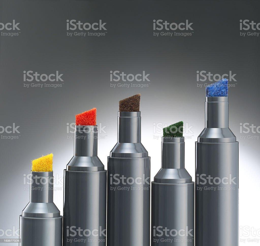 Whiteboard marker stock photo