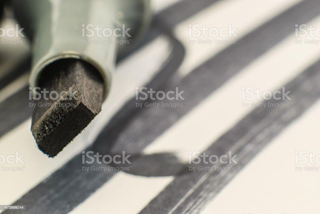 Whiteboard pen stock photo