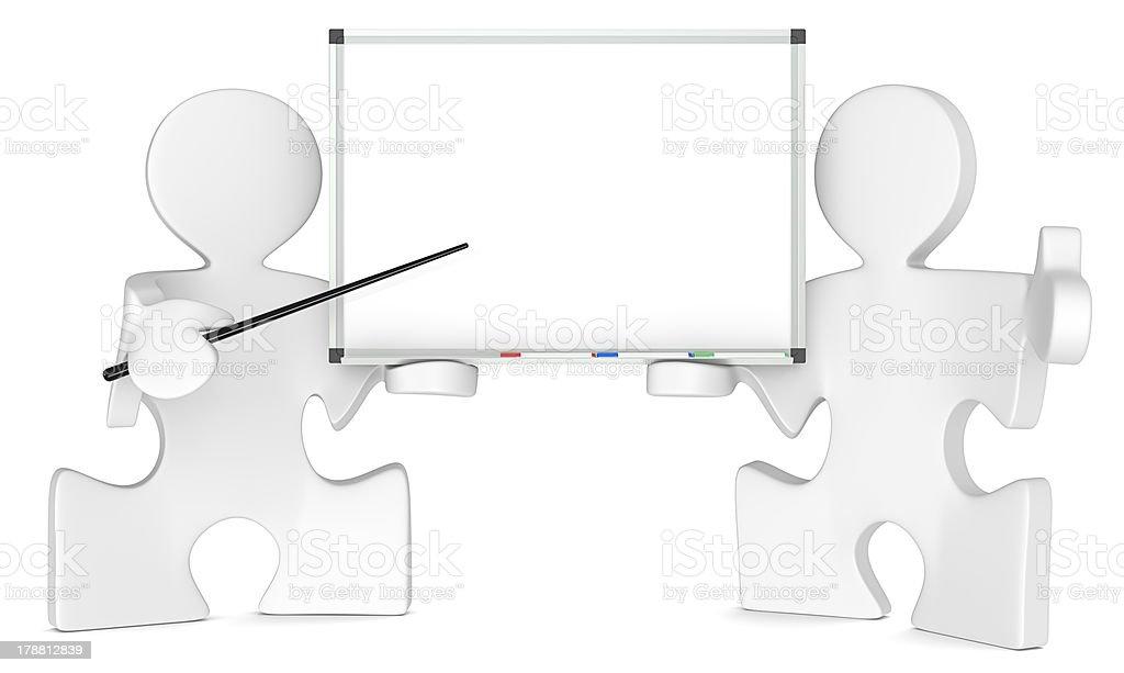 Whiteboard. royalty-free stock photo
