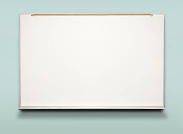 Quadro branco - foto de acervo