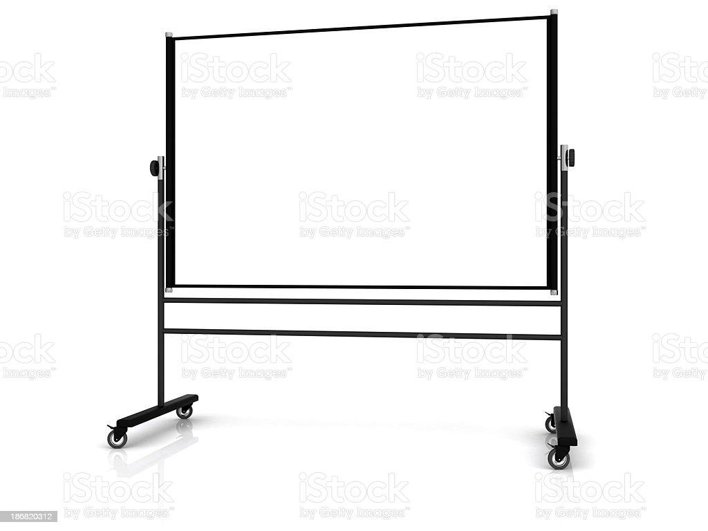Whiteboard royalty-free stock photo