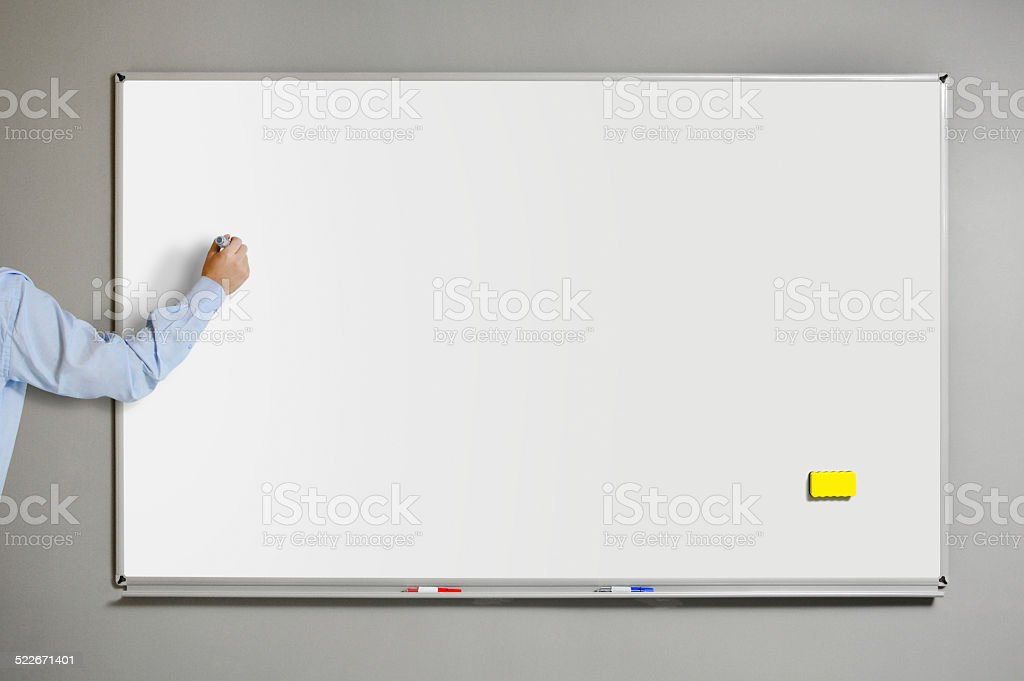 Whiteboard (Click for more) stock photo
