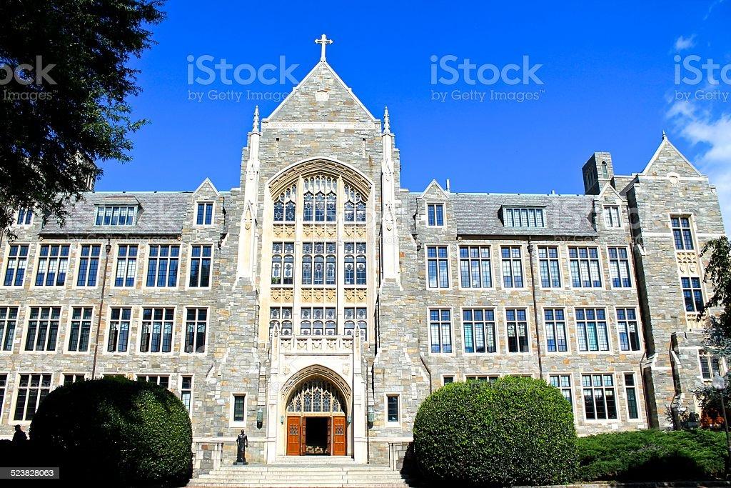 White-Gravenor Hall at Georgetown University stock photo