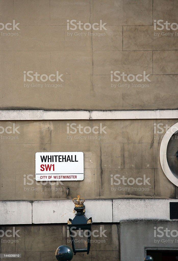 Whitehall stock photo