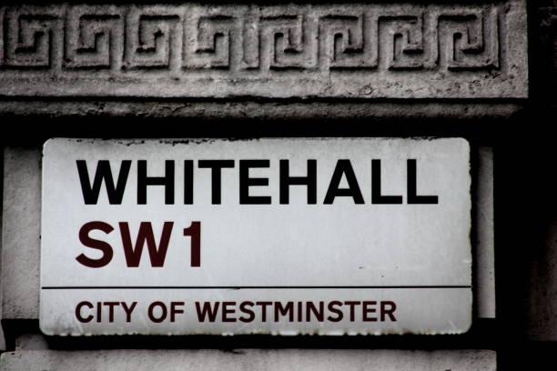 Whitehall Straßenschild – Foto