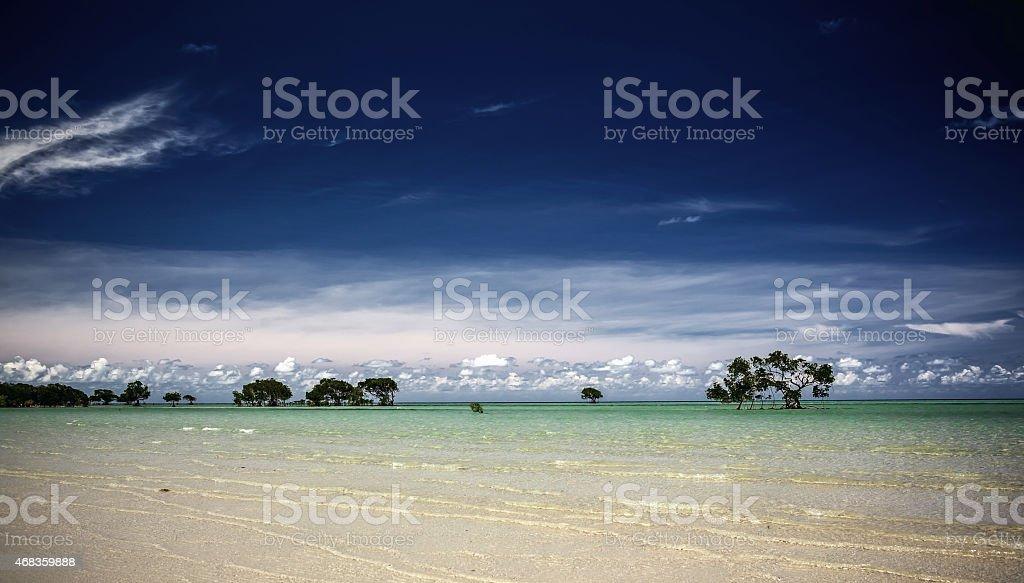 Whitehaven beach in Australia royalty-free stock photo