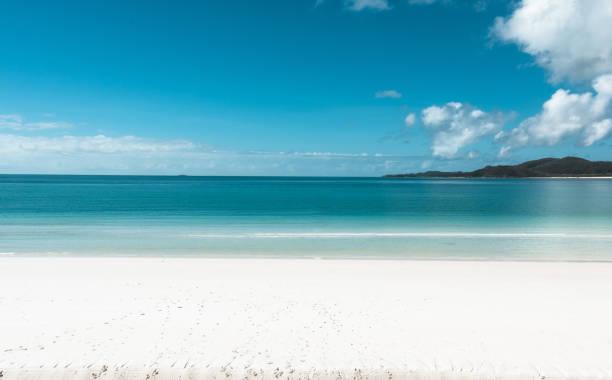 Whitehaven Beach in Queensland-Australien – Foto