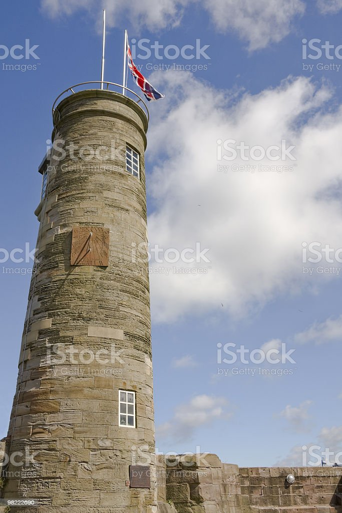 Whitehaven Harbour tower royalty-free stock photo