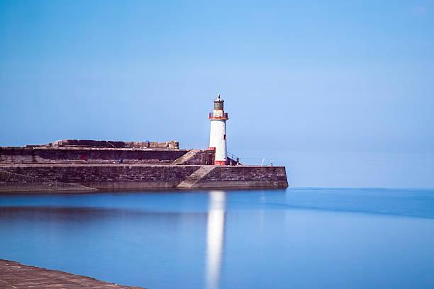 Whitehaven Lighthouse stock photo
