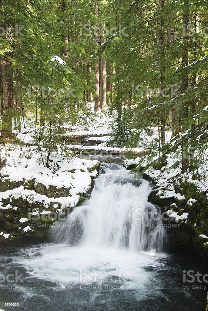 Whitehorse falls royalty-free stock photo