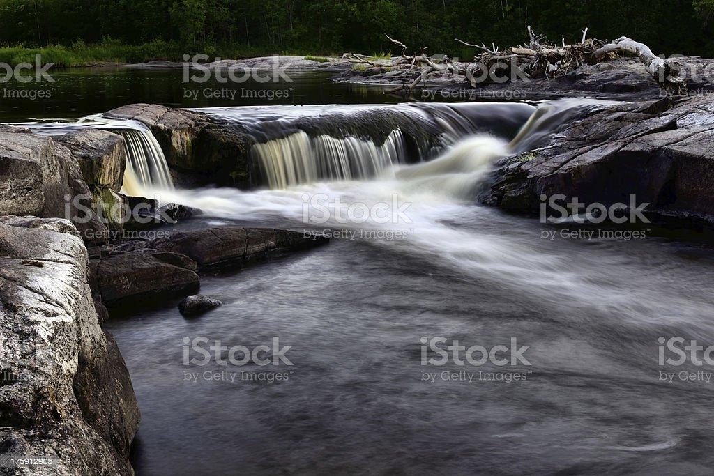 Whitemouth Falls royalty-free stock photo