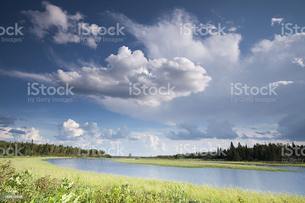 Whiteshell Provincial Park, Manitoba stock photo