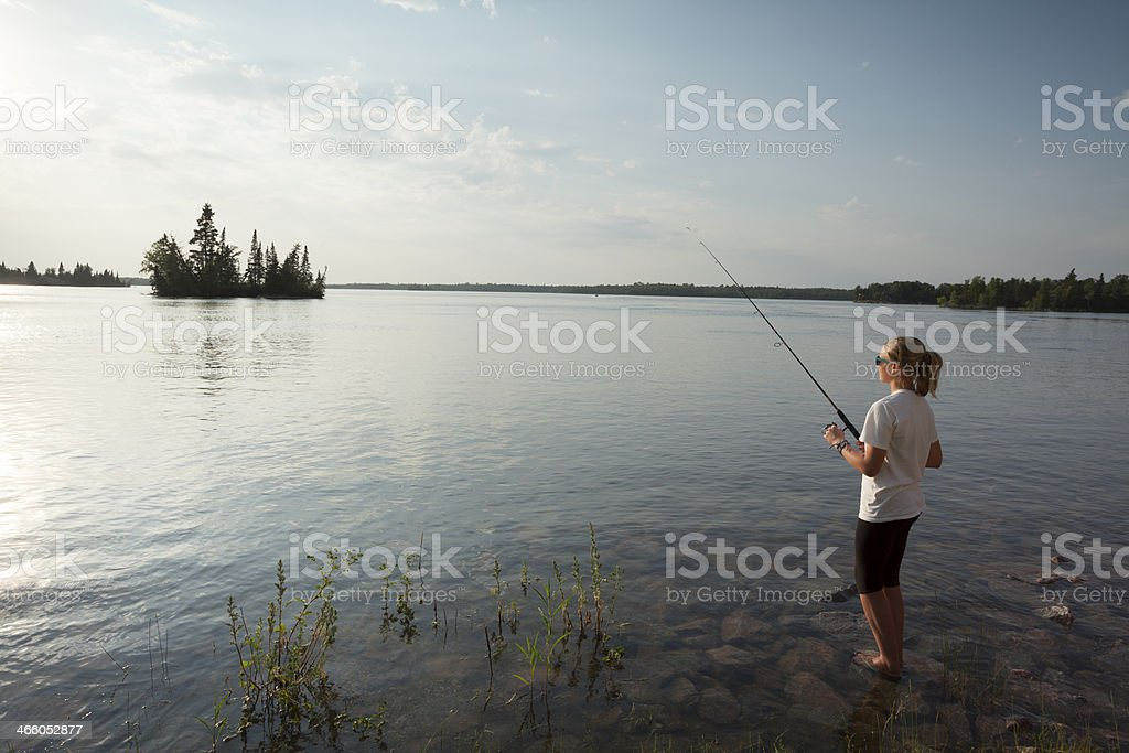 Whiteshell Provincial Park Manitoba royalty-free stock photo