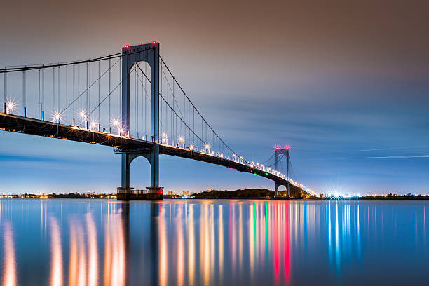 Whitestone Bridge stock photo