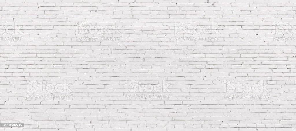 witgekalkte bakstenen muur, lichte metselwerk achtergrond voor design. Witte metselwerk foto