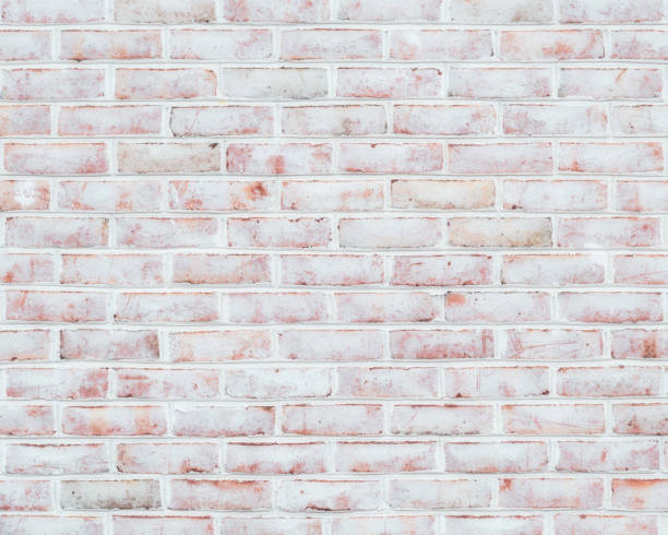 Whitewashed brick wall texture Rustic whitewashed brick wall texture whitewashed stock pictures, royalty-free photos & images