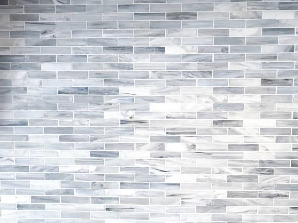 Weiß getünchte Tile-Hintergrund – Foto