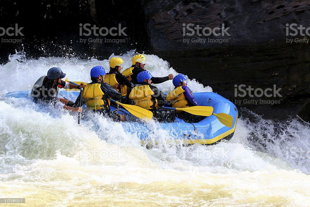 Whitewater High royalty-free stock photo