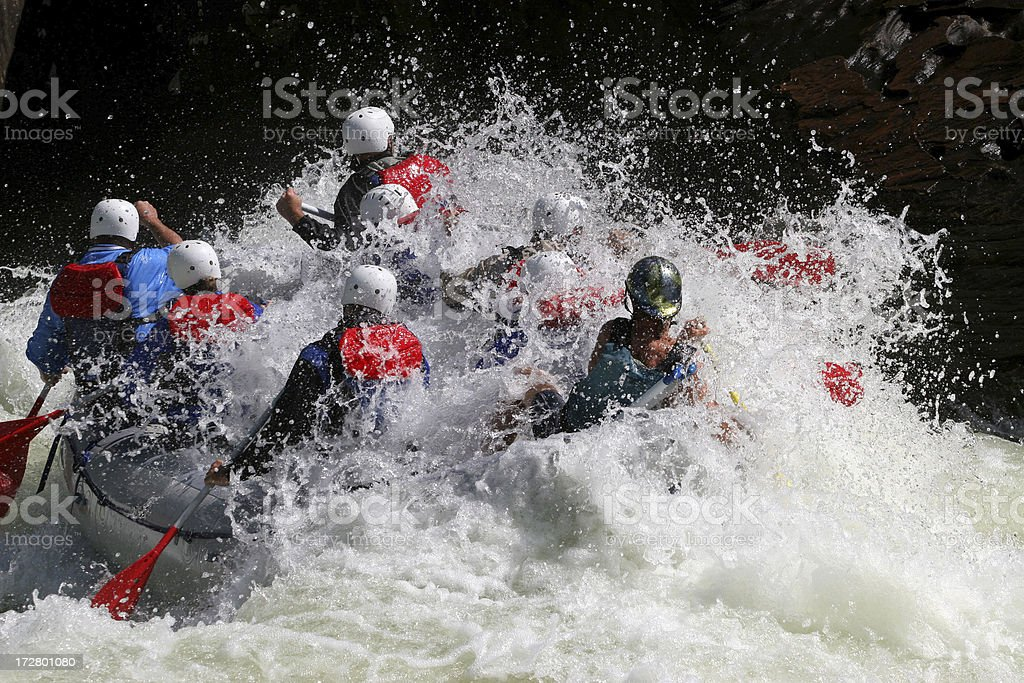 Whitewater Involvement stock photo