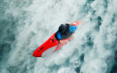 Whitewater kayaking, Extreme kayaking sport photo