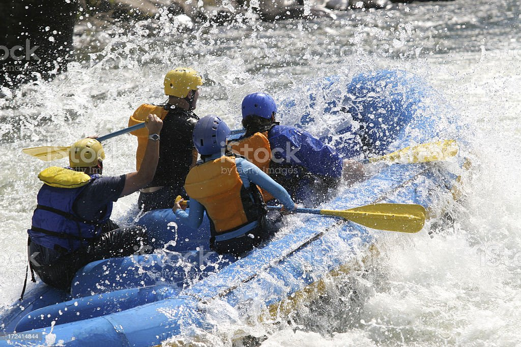 Whitewater Rafting - Royalty-free Adventure Stock Photo