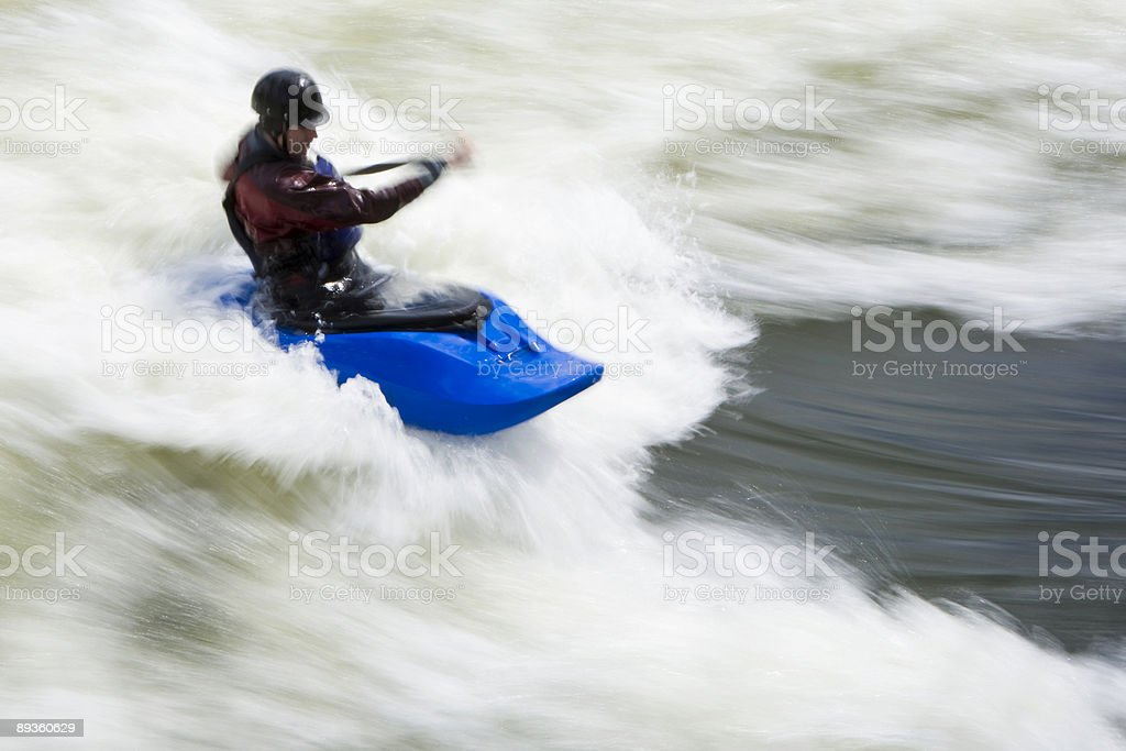 Whitewater surf foto stock royalty-free
